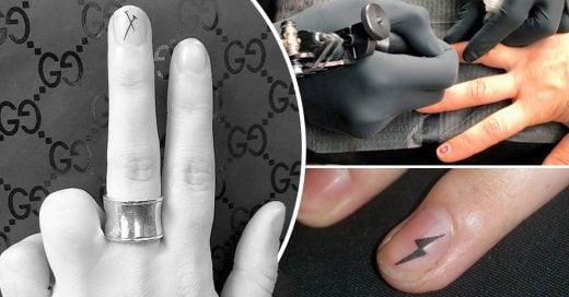 La ultima tendencia de uñas en Instagram: Uñas tatuadas