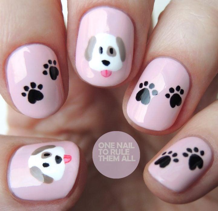 uñas de perritos