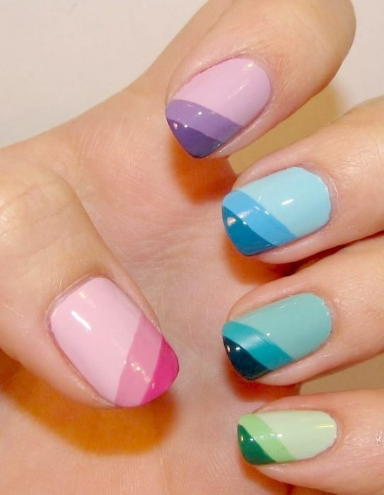 UÑAS COLOR PASTEL