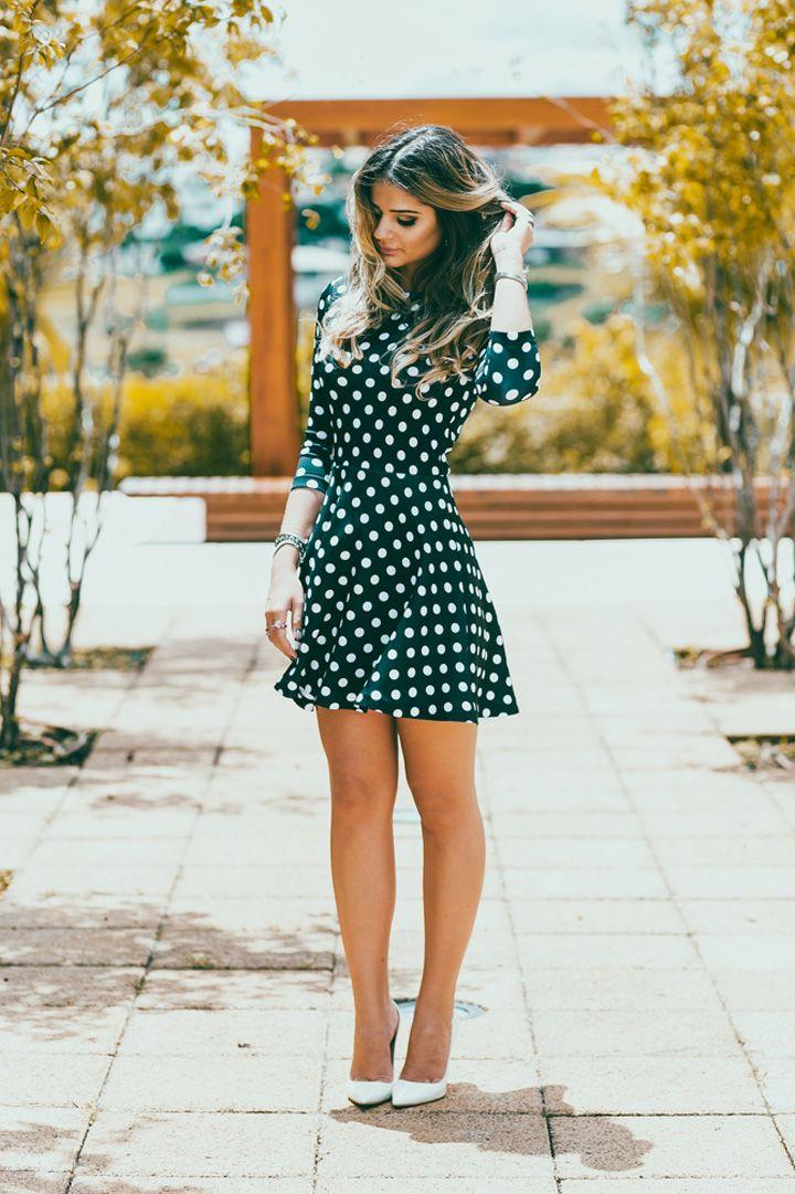 15 Vestidos Cortos Para Chicas Conservadoras Y Elegantes