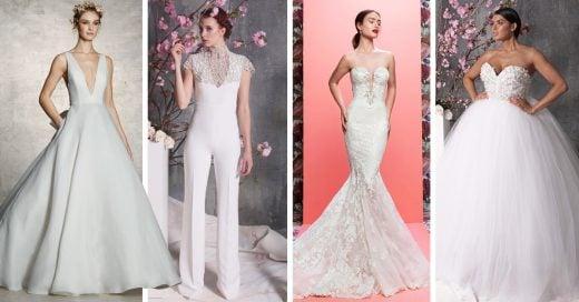 25 Vestidos de novia que te van a enamorar no importa que seas soltera