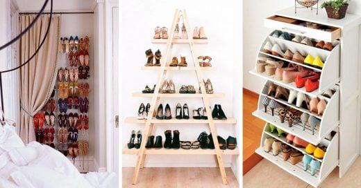 15 Tips para ordenar tus zapatos
