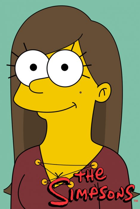Dibujo al estilo Los Simpson
