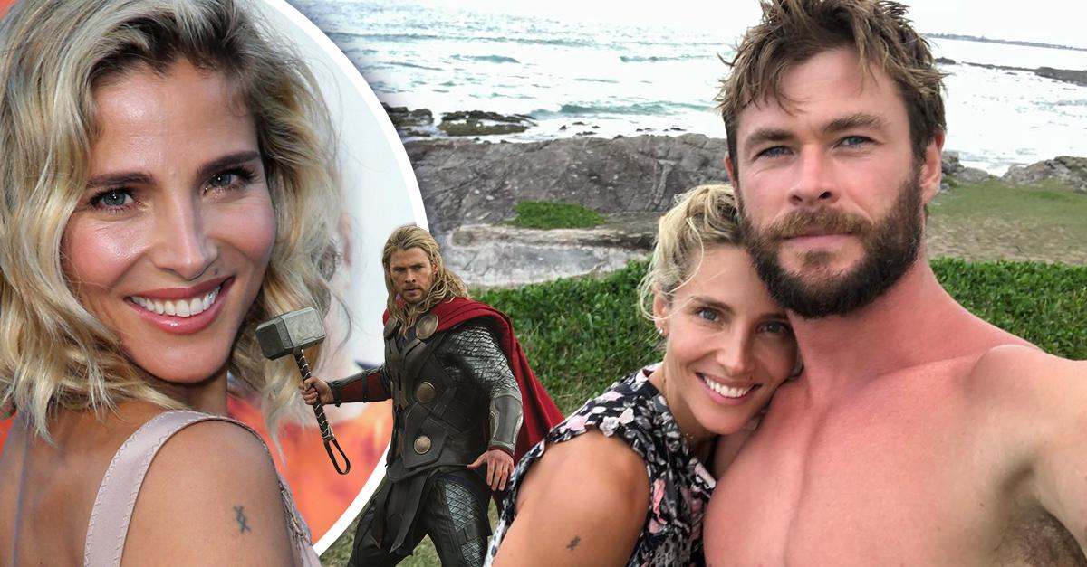 Elsa Pataky predijo su matrimonio con Chris Hemsworth de una forma sorprendente