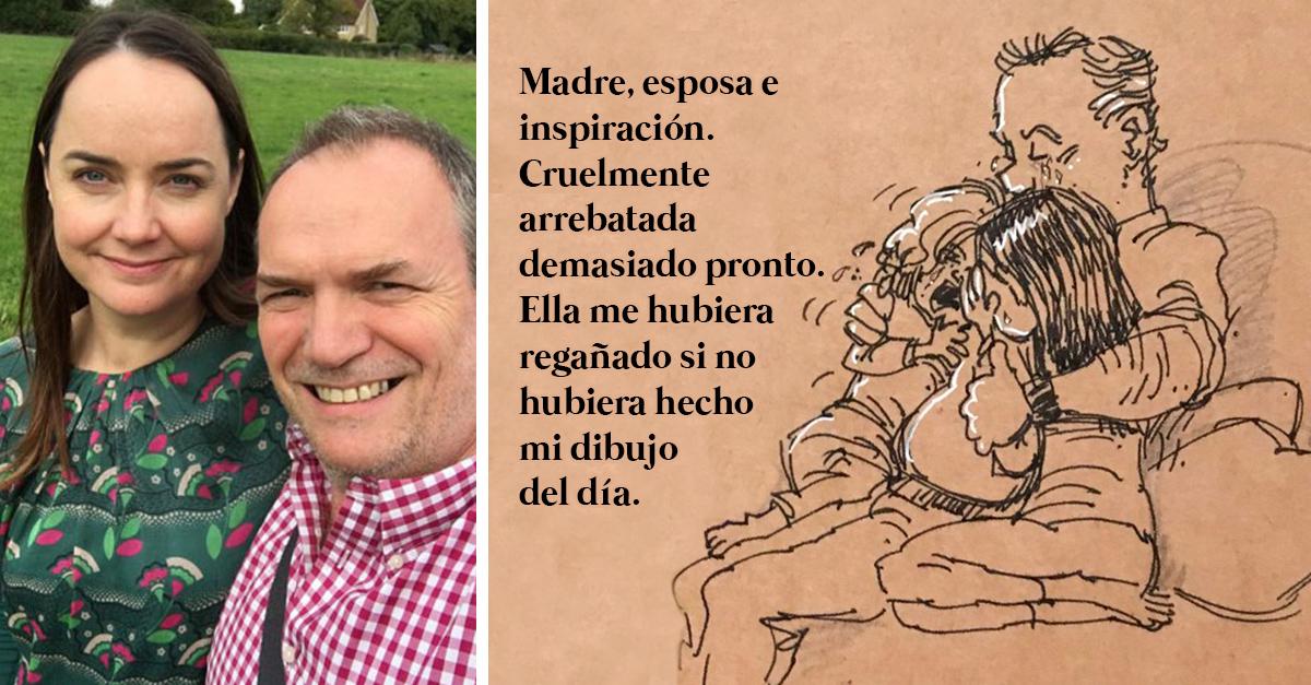 25 Dibujos de un exilustrador de Disney que perdió a su esposa
