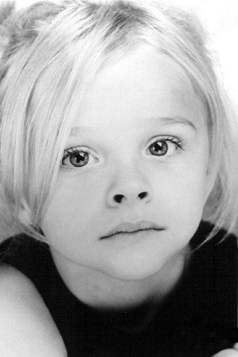 Chloe Grace Moretz de pequeña