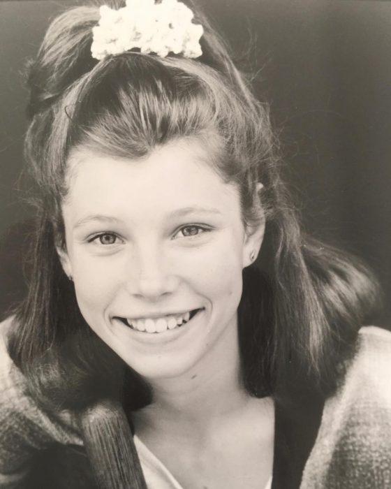 Jessica Bielcuando era adolescente