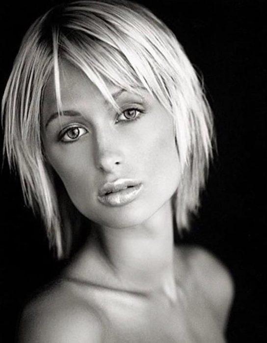 Paris Hiltoncuando era una adolescente