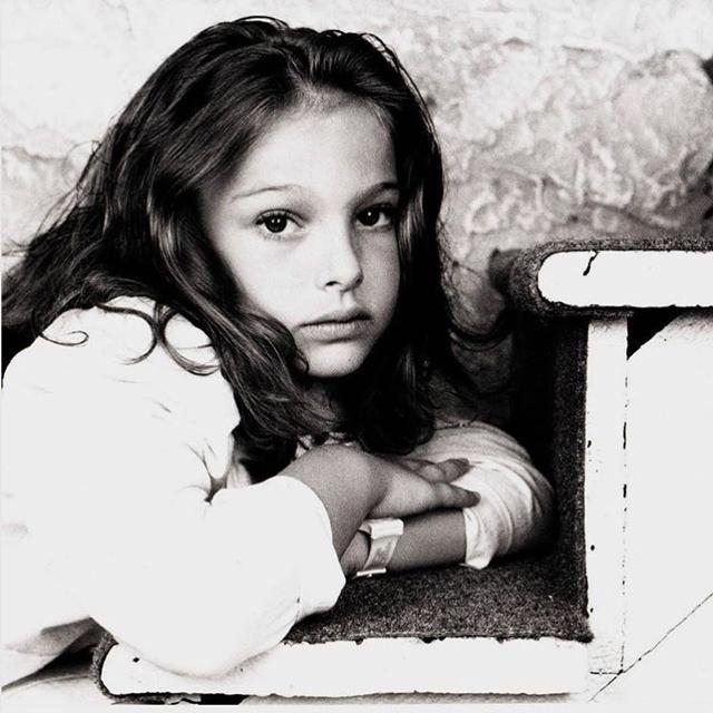 Natalie Portman de pequeña