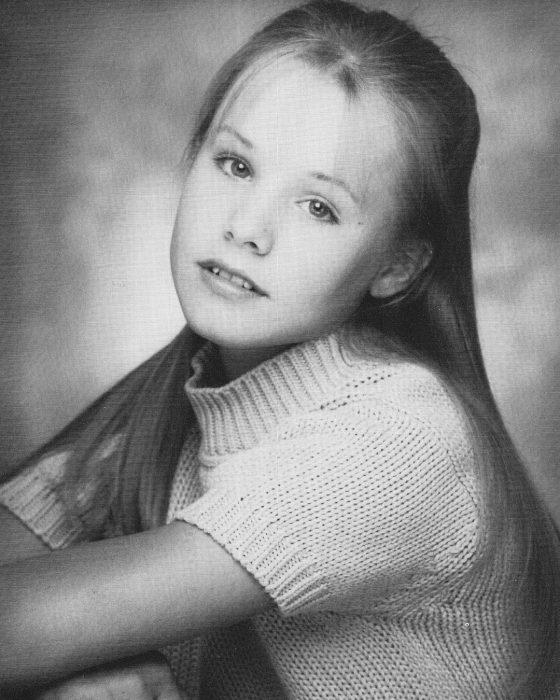 Kristen Bell de pequeña