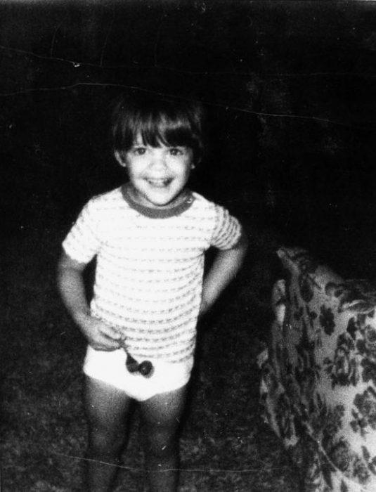 Luis migul cuando era pequeño