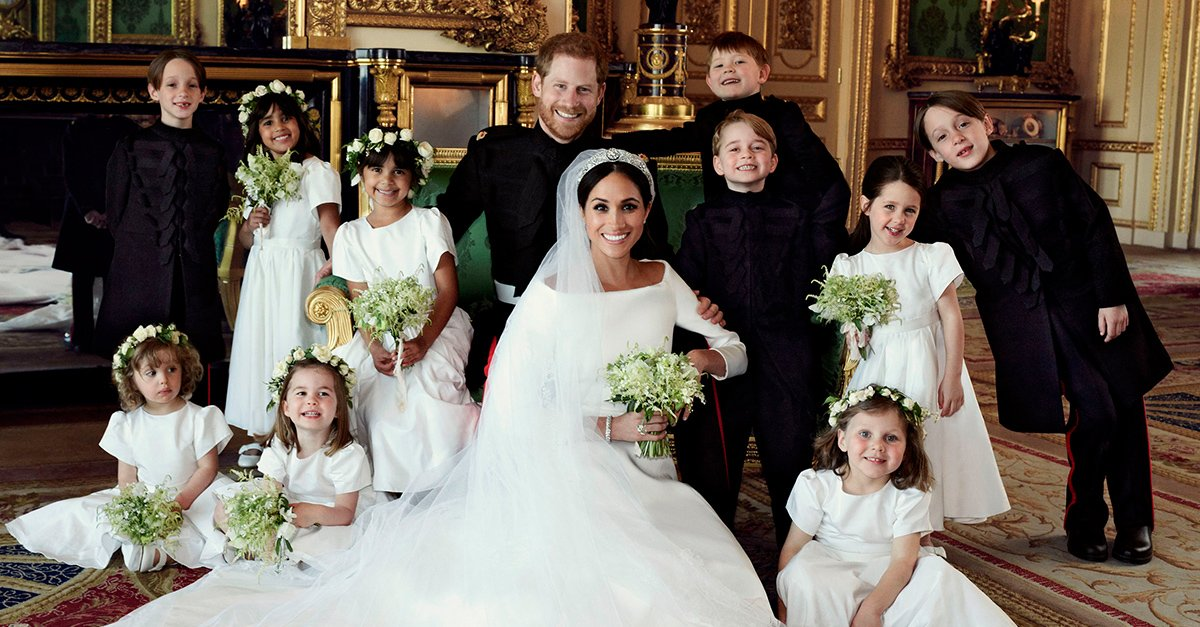 Las fotos oficiales de la boda de Meghan y Harry son tan lindas que volverás a creer en el amor