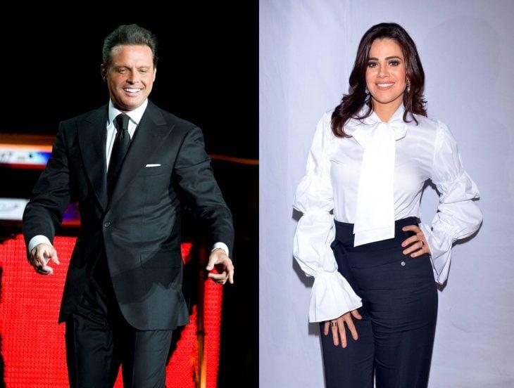 Luz Elena Gonzalez y Luis Miguel