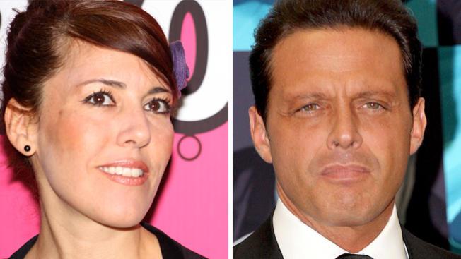 Stephanie Salas y Luis miguel