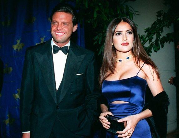 Salma Hayeck y Luis Miguel