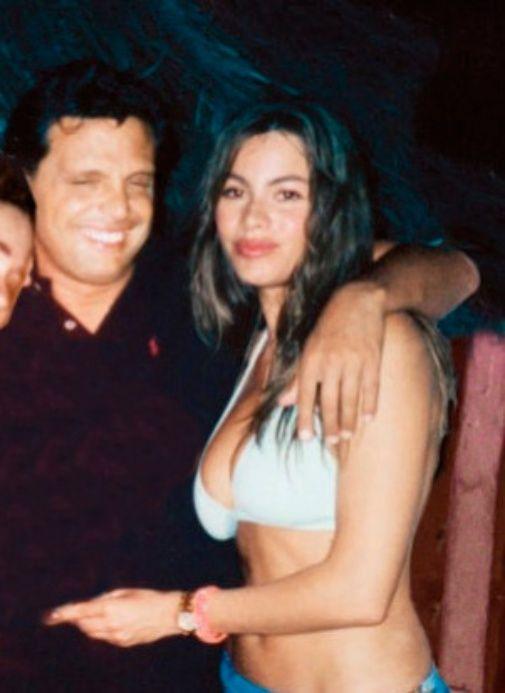 Sofia Vergara y Luis Miguel