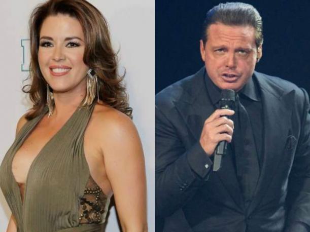 Alicia Manchado y Luis Miguel