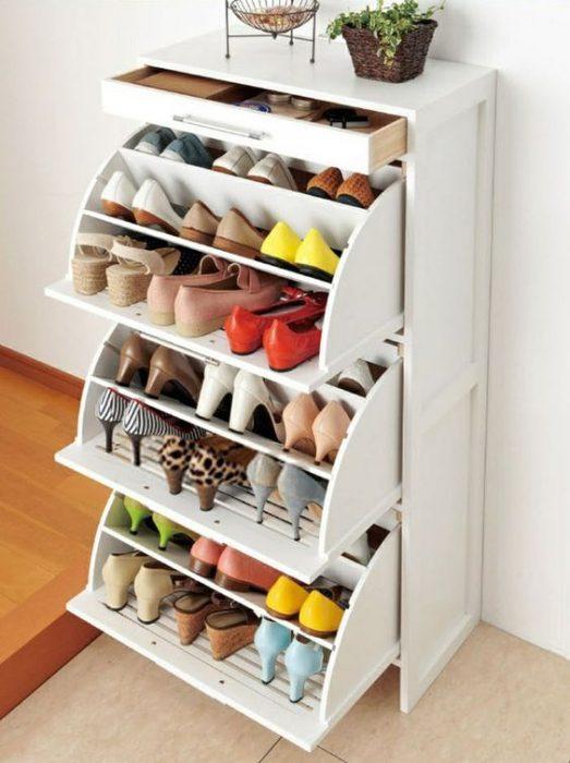 Caja para organizar los zapatos