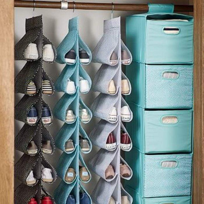 Cajones para organizar los zapatos