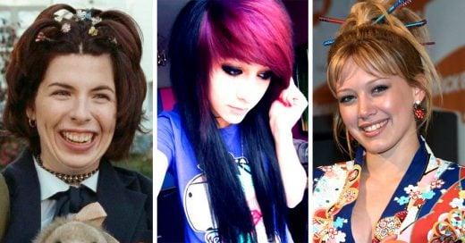15 Horribles momentos por los que hiciste pasar a tu cabello en el 2000