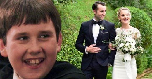 Matthew Lewis dejó la soltería y se casó con la blogger Angela Jones