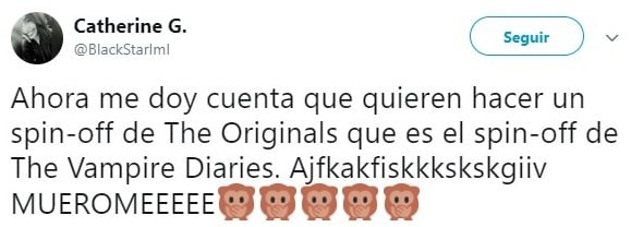 tuit sobre The Vampire Diaries