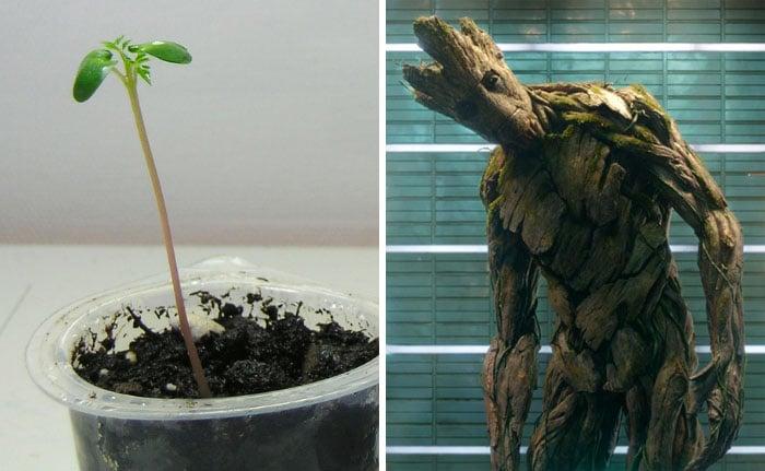 personaje de Marvel Groot