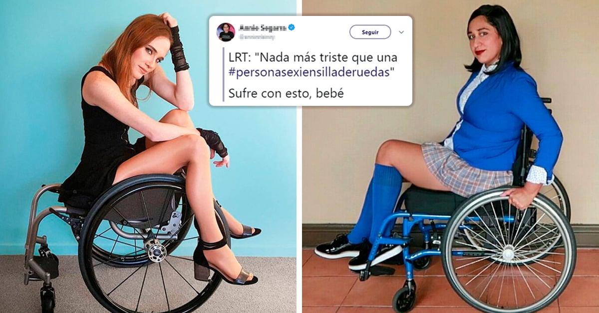 Personas en sillas de ruedas demuestran que también pueden ser sexis