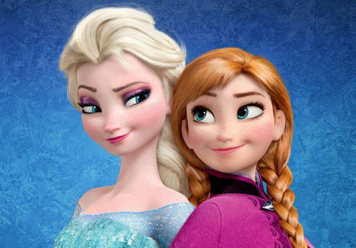 escena de Frozen la película