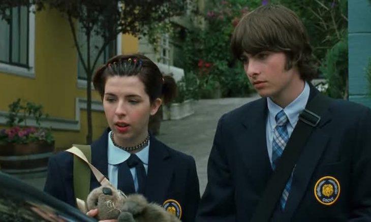 Lilly y Michael de el diario de una princesa