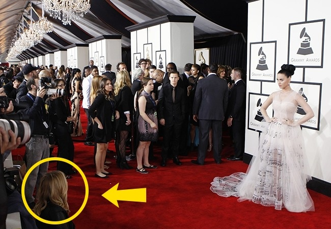 Katy Perry en la alfombra roja