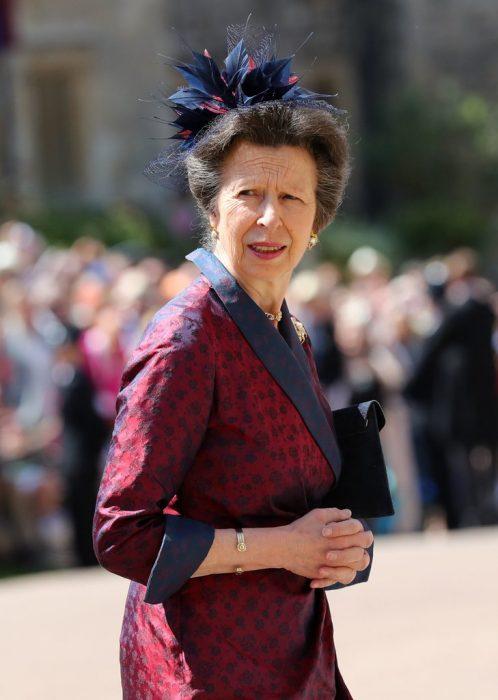 Princesa Annehermana de la reina Isabel II