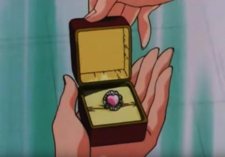 Caricarura anillo comrp
