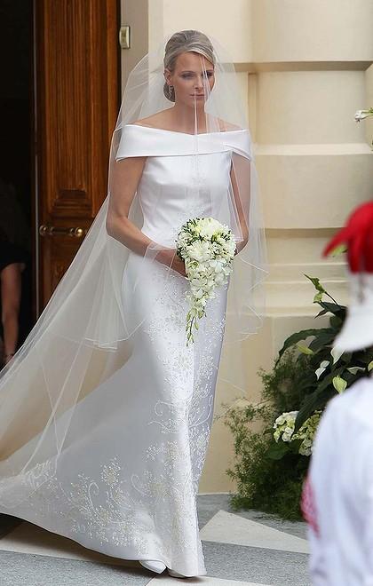 Charlene de mónaco el día de su boda