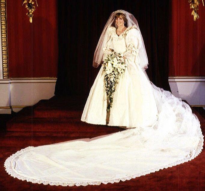 vestidos de novia que las mujeres de la realeza han usado
