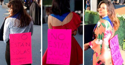 Protestaron contra el acoso el día de su graduación; sus maestros les pidieron que lo no hicieran