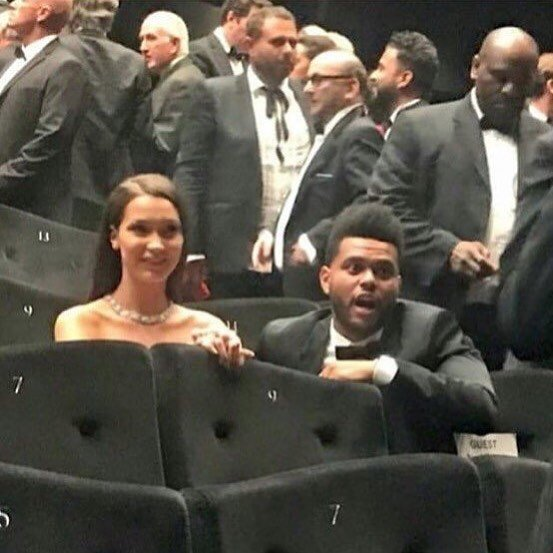 bella y the weeknd