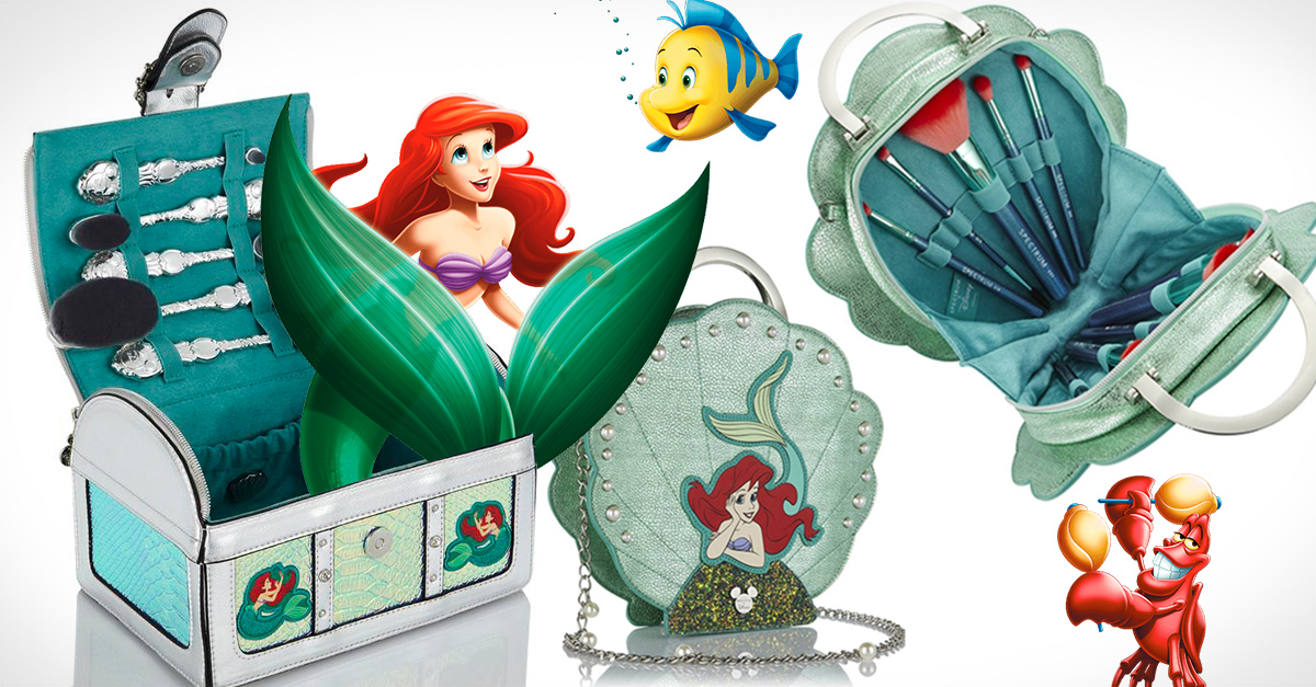 Las nuevas brochas de La Sirenita ya están aquí y son todos lo que imaginaste
