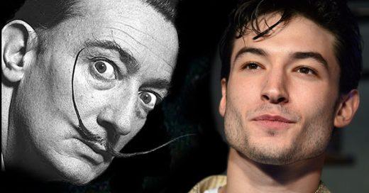 Ezra Miller le dará vida a Salvador Dalí en Dalí Land