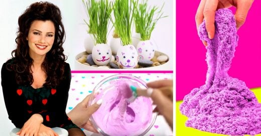 10 Divertidos DIY para cuando te toca ser niñera en casa