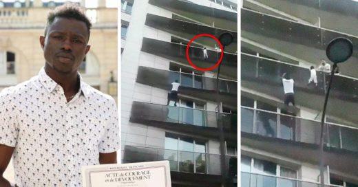 Este hombre fue apodado Spider-man gracias a que salvó la vida de un niño