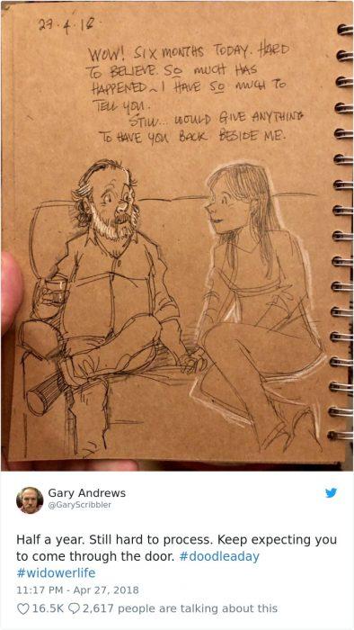 ilustraciones amor papá