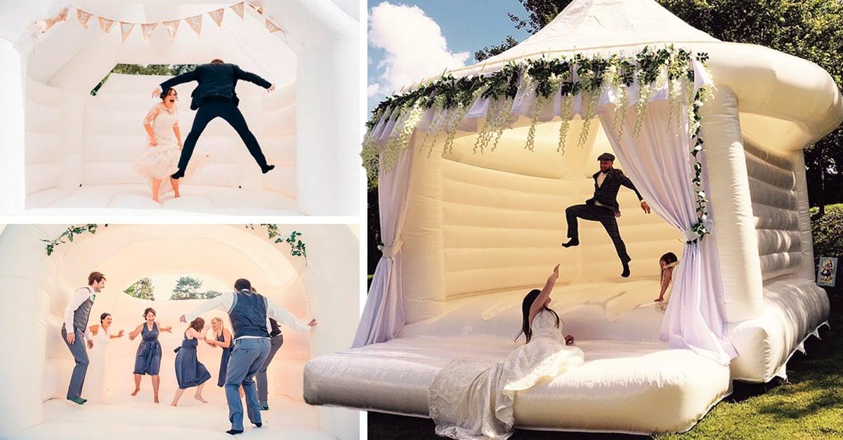 Estos inflables harán que tus invitados se diviertan como niños en tu Boda