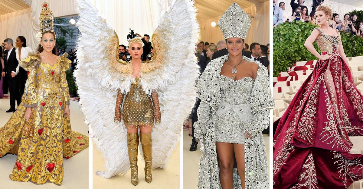 Los diseños más impactantes de la Gala del Met 2018