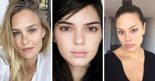 20 Supermodelos que lucen increíble sin una sola gota de maquillaje