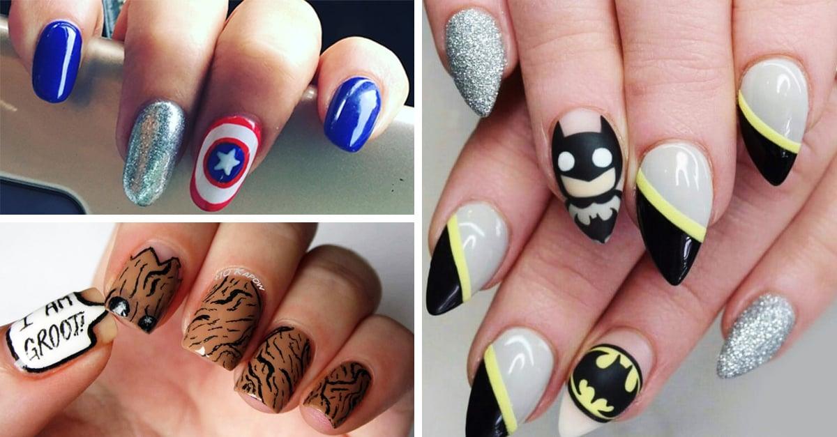 15 Estilos de uñas inspirados en superhéroes