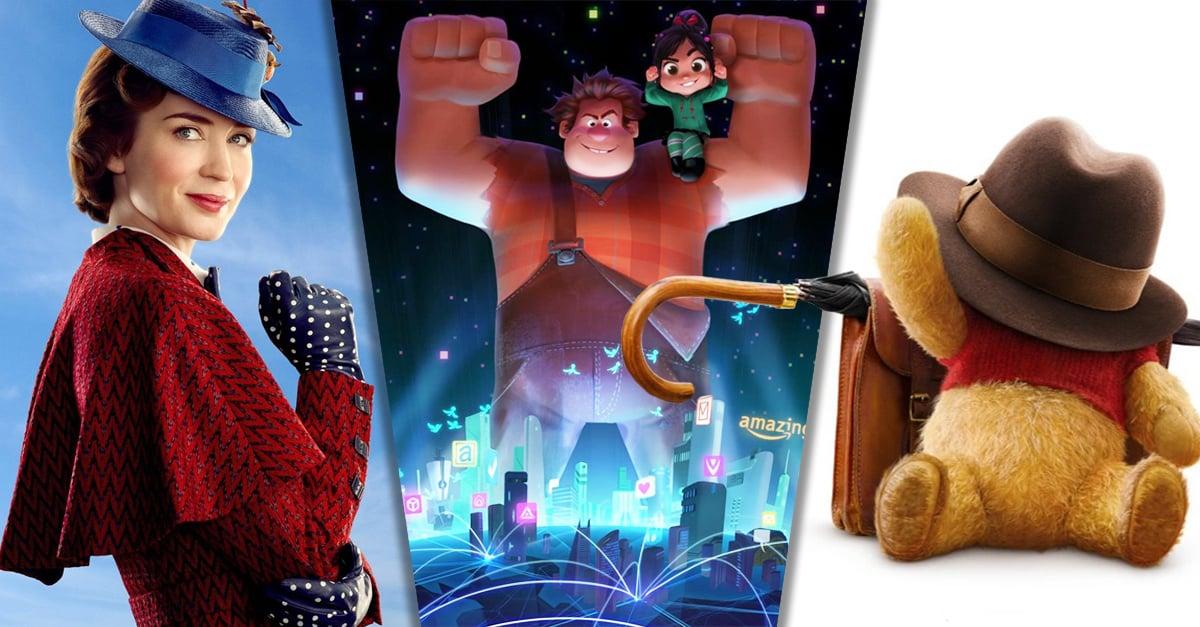 17 Estrenos de Disney que te mantendrán dentro del cine hasta el 2019