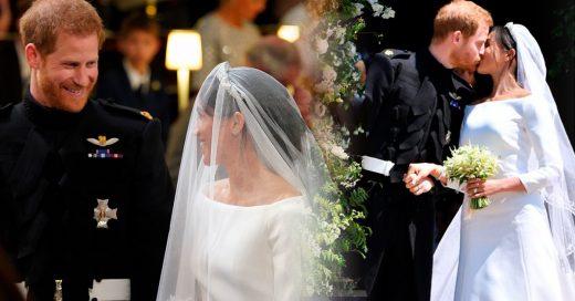 ¡Meghan y Harry por fin son esposos! Su boda fue digna de un cuento de hadas