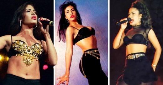 16 Looks de Selena Quintanilla que demuestran por qué es la reina del bustier y crop-top