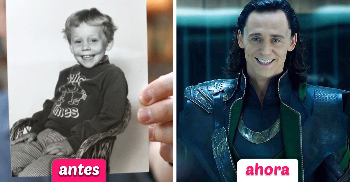Estas fotos muestran cómo lucían los Avengers en su niñez; Groot es demasiado adorable